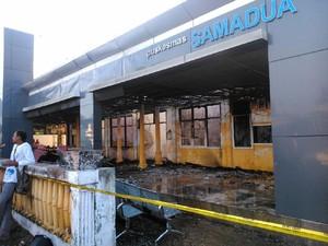 Puskesmas di Aceh Selatan Ludes Terbakar