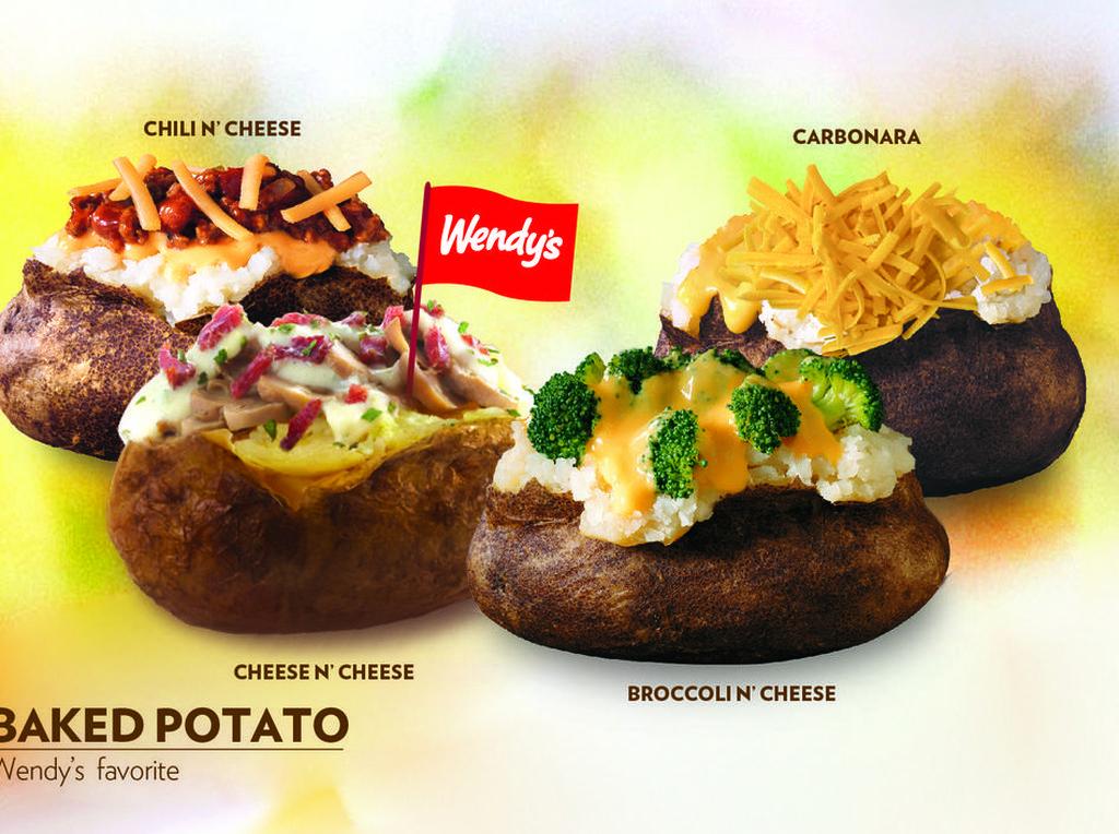 Ini Sebabnya Hanya Wendys yang Menjual Baked Potato