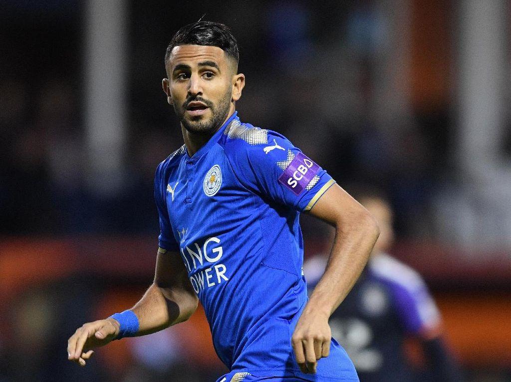 Tawaran Kembali Ditolak Leicester, Roma Siap Berhenti Kejar Mahrez