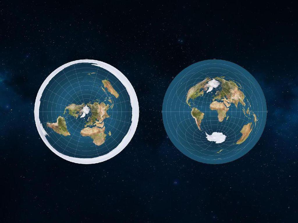 Pandangan Unik Soal Bumi dari Para Mantan Penganut Flat Earth
