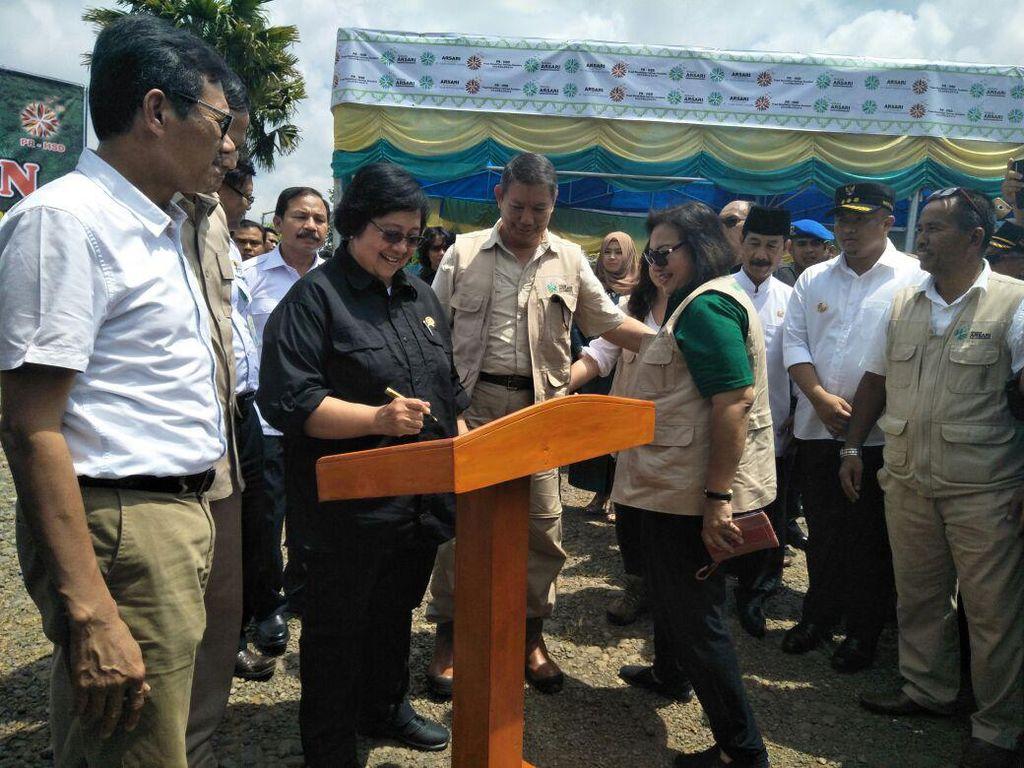 Bareng Adik Prabowo, Menteri LHK Resmikan Pusat Rehabilitasi Harimau