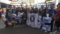 Mumpung Dekat, Fans Chelsea dari Indonesia Sambangi Singapura