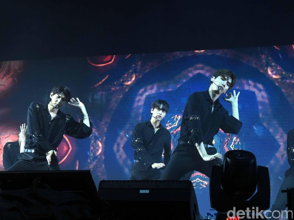 Keseruan VIXX Fan Meeting Tour Asia di Jakarta