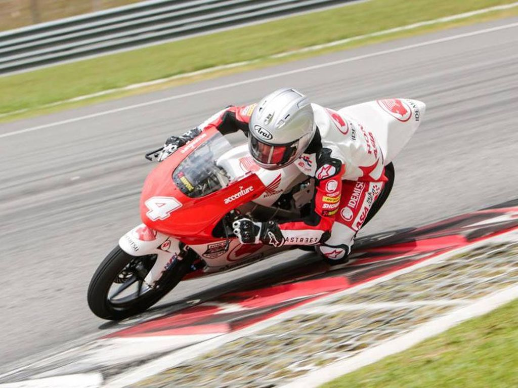 Gerry Salim Finis Keenam di Race 2 ATC