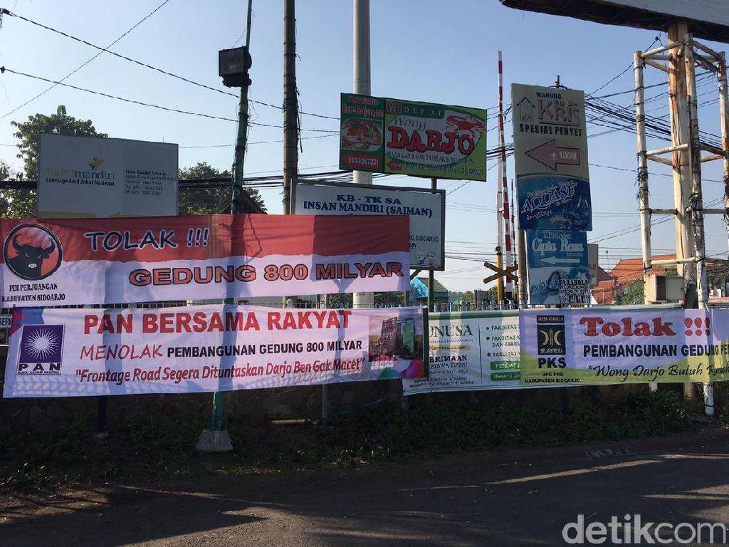 3 Partai di Sidoarjo Tolak Pembangunan Gedung Terpadu Rp 800 Miliar