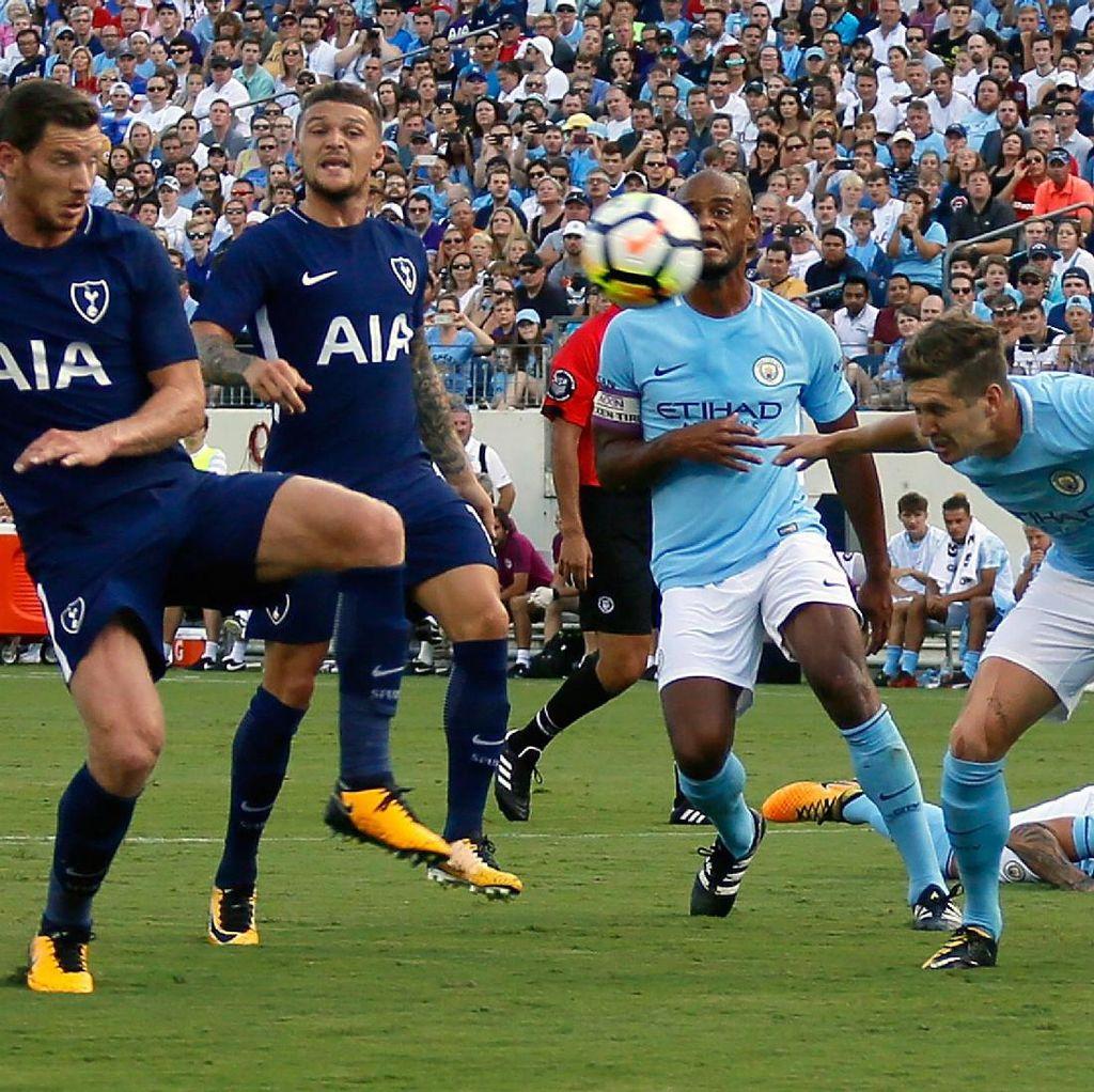 Spurs Pede Hentikan Rentetan Kemenangan City