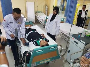 11 Calhaj Opname di Klinik, Tak Ada yang Sakit karena Cuaca