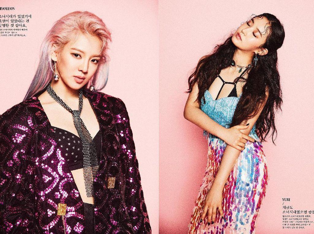 Double Trouble! Hyoyeon dan Yuri Rilis Teaser Foto Album Baru SNSD