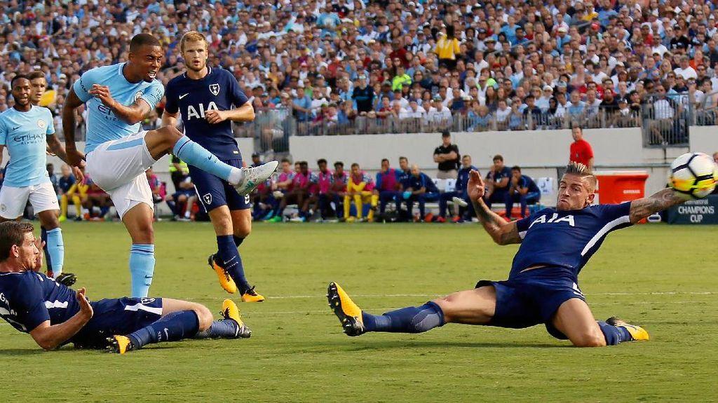 Foto: Kemenangan Telak City atas Spurs