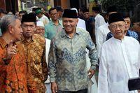 Gus Solah (paling kanan) saat bertemu dengan pimpinan KPK periode 2015-2019