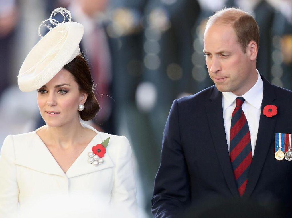 Cerita Kate Middleton Saat Pangeran William Jadi Ayah Pertama Kali