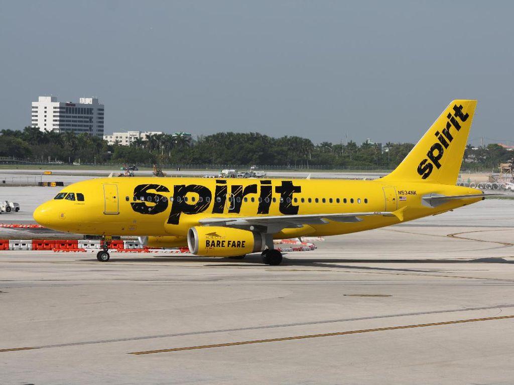Lagi Corona, Penumpang Berantem dan Bikin Pesawat Mendarat Darurat