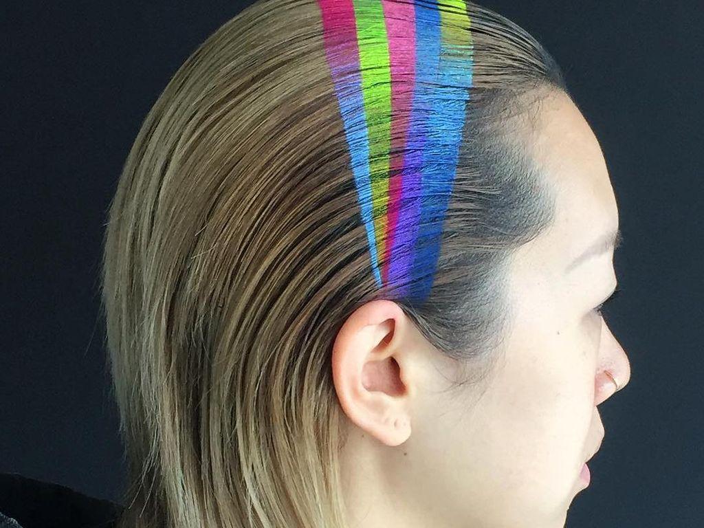 Ngeri! Kulit Kepala Wanita Ini Terbakar karena Bleaching Rambut Terlalu Lama