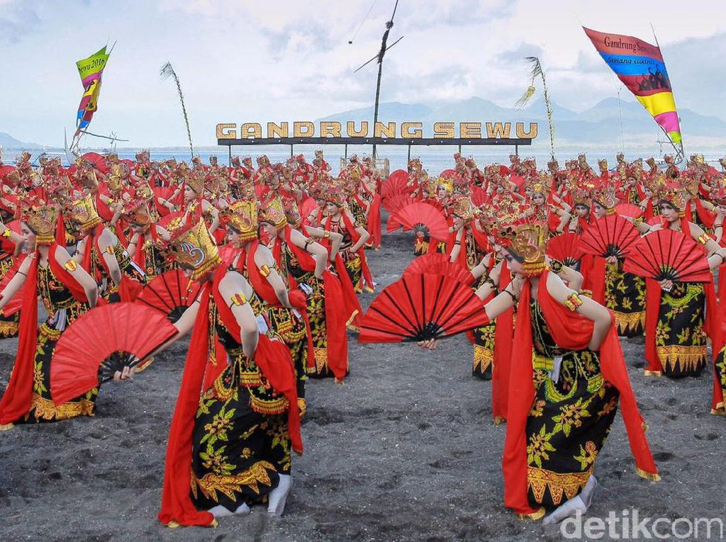 Tari Gandrung Banyuwangi Diundang ke Istana Negara untuk Kedua Kali