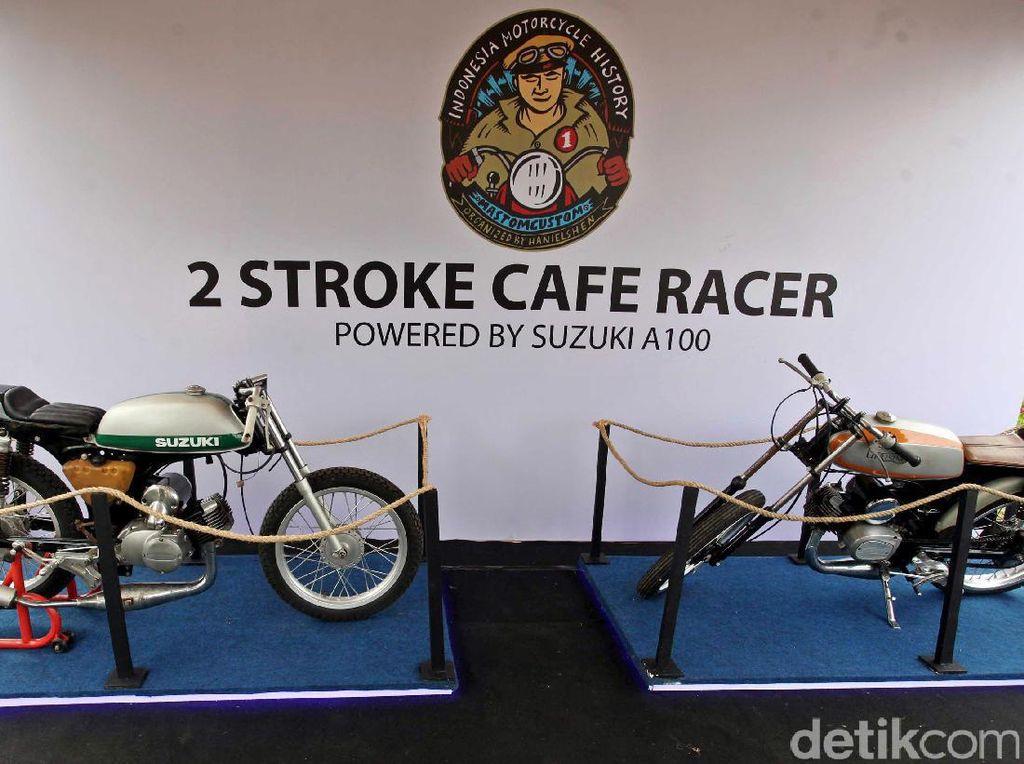 Foto: Melihat Motor Suzuki dari Masa ke Masa