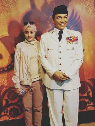 Penty Nur Afiani, pesinetron 'Misteri Gunung Merapi 3'.