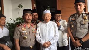 Kapolda Metro Sambangi Kediaman KH Maruf Amin