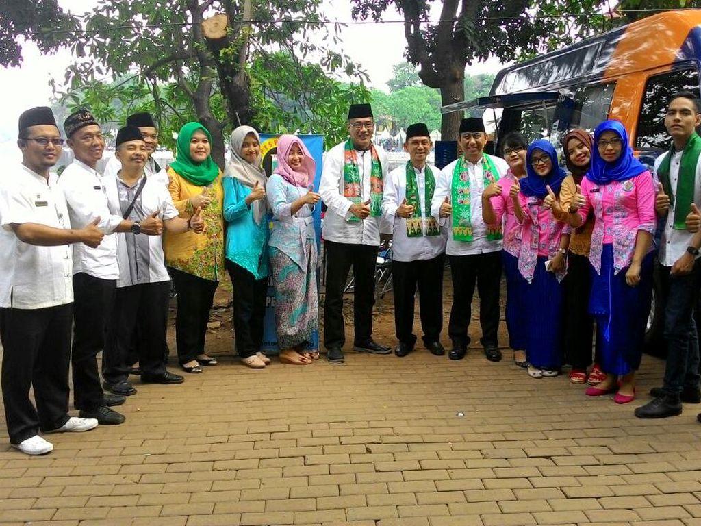 PTSP Tetap Layani Warga di Lebaran Betawi 2017