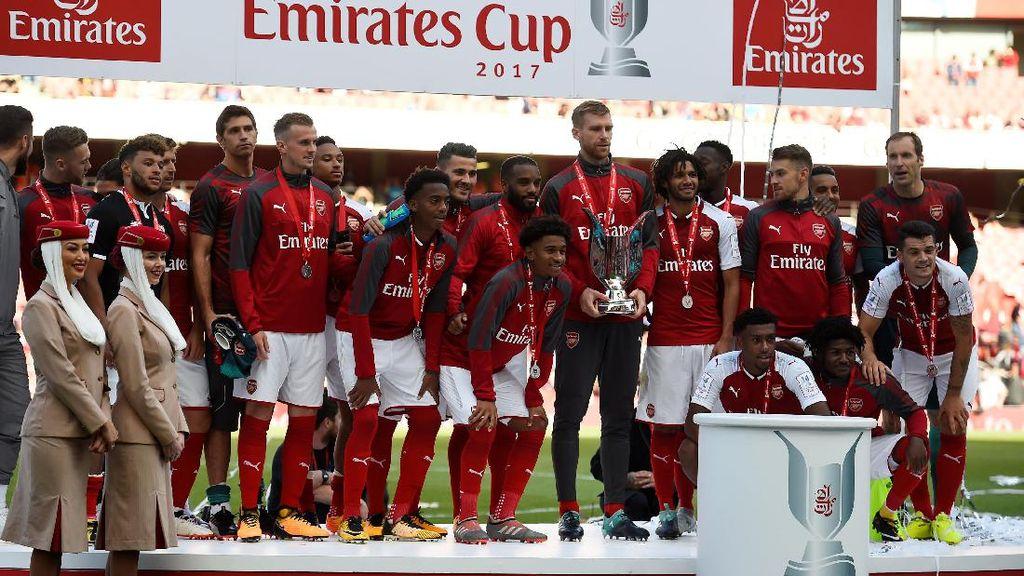 Foto: Momen-Momen Arsenal Juarai Emirates Cup