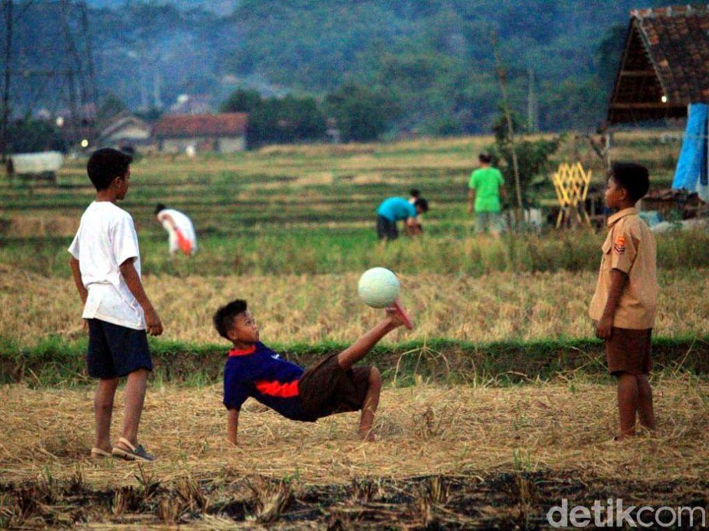 Minimnya Lahan Bermain Anak di Kabupaten Bandung
