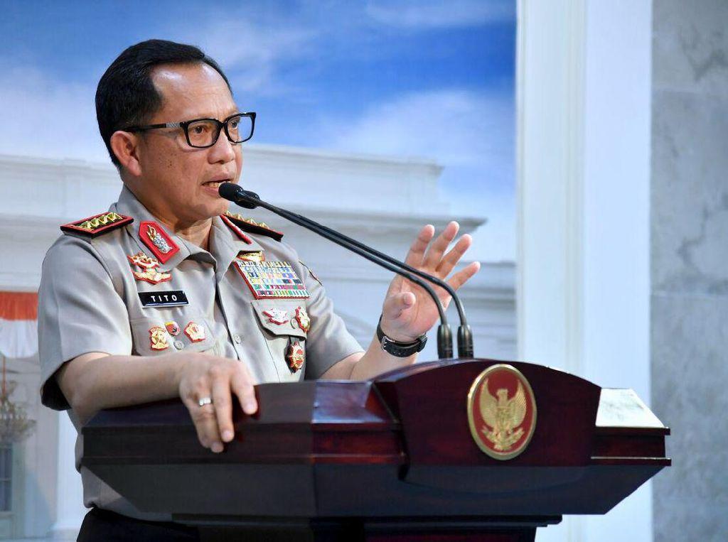 Kapolri: Revisi UU Antiterorisme Bisa Buat JAD Organisasi Teroris