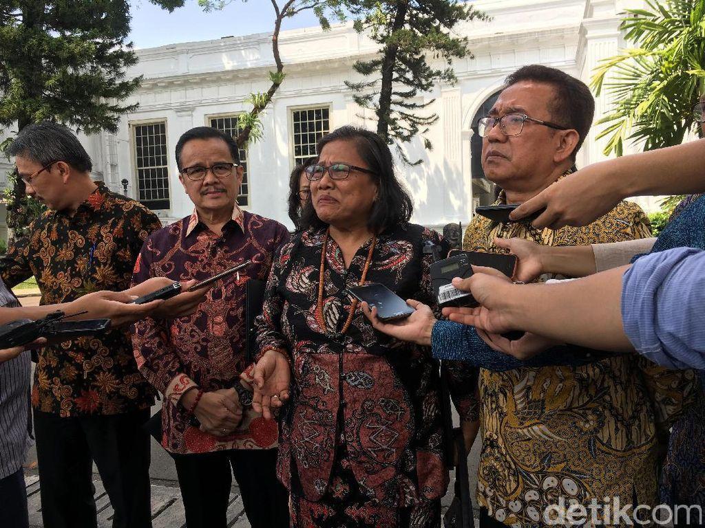 Persekutuan Gereja Indonesia Temui Jokowi Bahas Isu Nasional