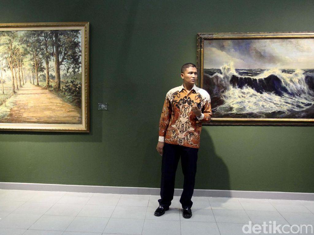 Sosok Bung Karno di Balik Lukisan Langka Istana Negara