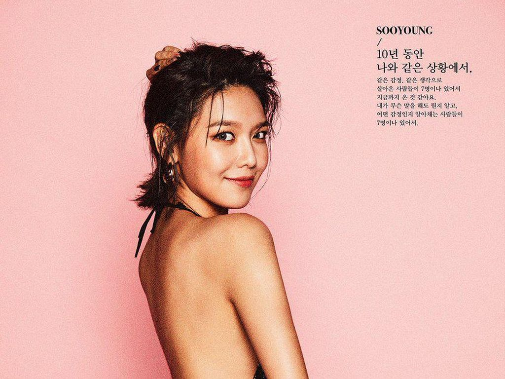 Gorgeous! Sooyoung SNSD Tampil Seksi di Teaser Foto Holiday Night