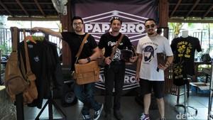 Biasa Main Lumpur, Umar Lubis Kini Jalan di Aspal dengan Harley
