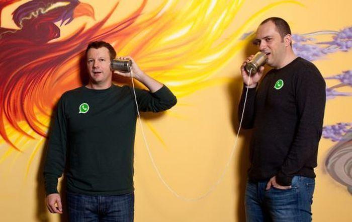 Brian Acton dan Jan Koum. Foto: istimewa