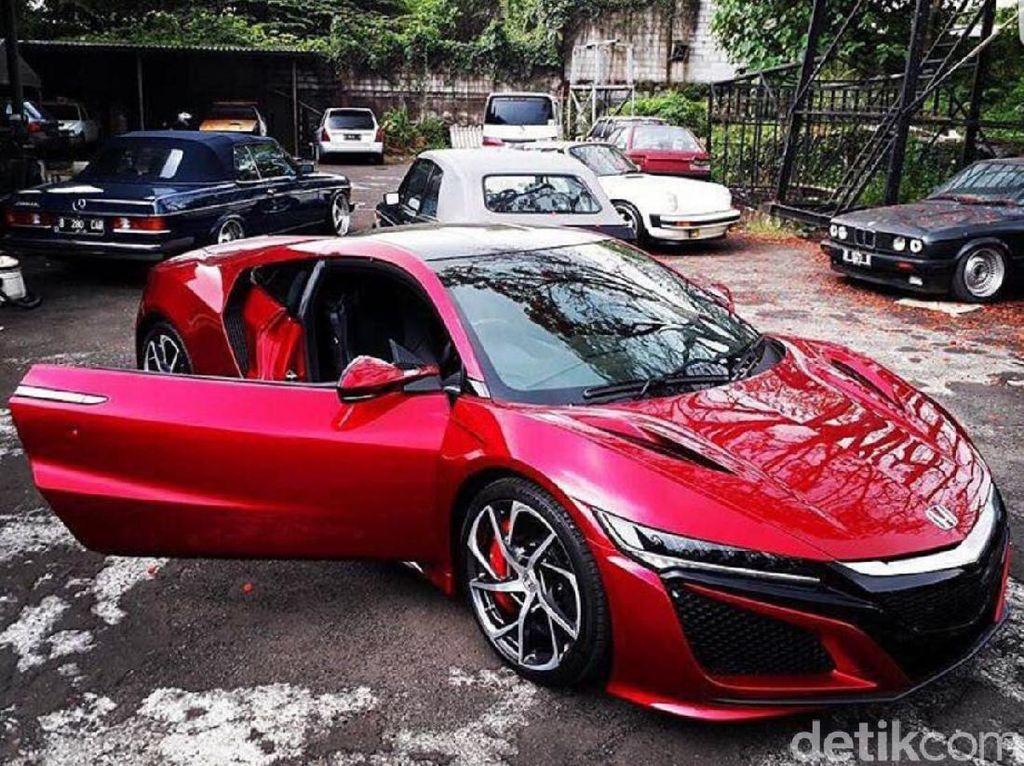 Mobil Super Honda Mendarat di Jakarta