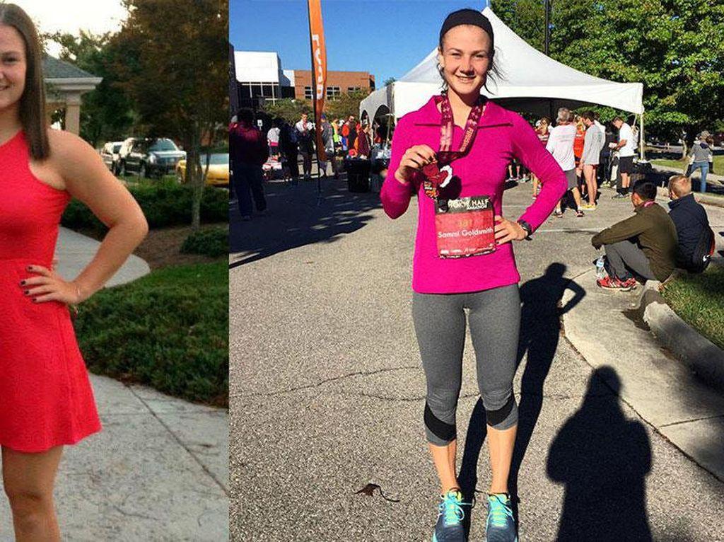 Ayah Meninggal Kena Serangan Jantung, Wanita Ini Jadi Kecanduan Lari