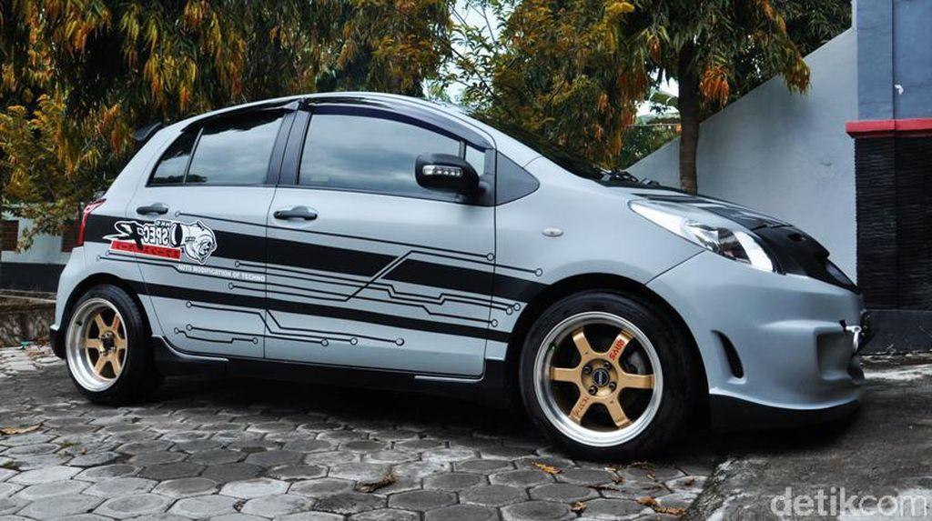Toyota Yaris untuk Balap Jalanan