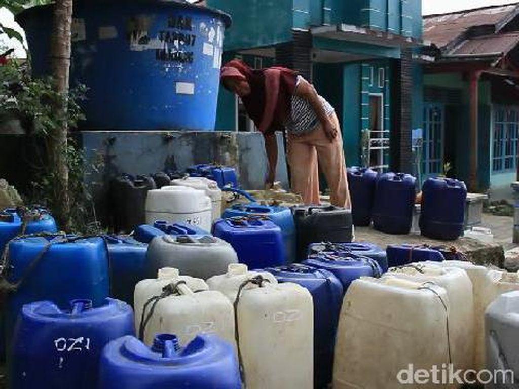 Melihat Kondisi Warga di Lereng Gunung Slametyang Krisis Air Bersih