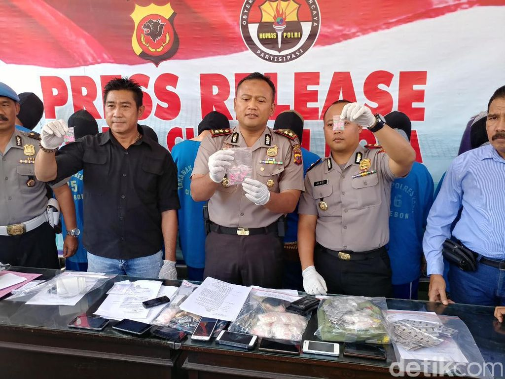 Polresta Cirebon Ungkap Peredaran Narkoba Jenis Iron Man