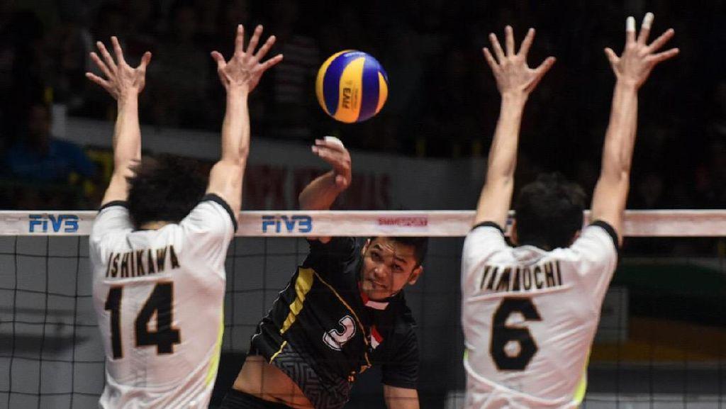 Timnas Voli Putra Urutan Keempat Kejuaraan Asia