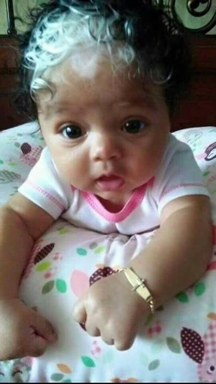 Foto 10 Bayi Yang Terlahir Dengan Rambut Unik Gemas