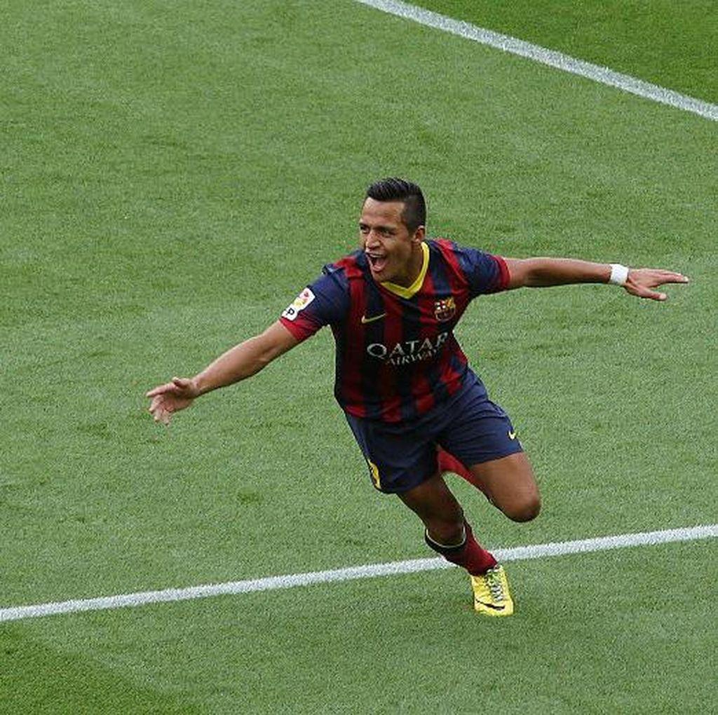 Ketimbang Coutinho, Alexis Sanchez Dianggap Lebih Oke untuk Barcelona