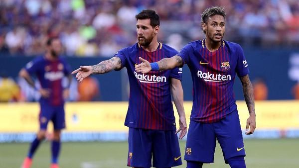 Salam Perpisahan dari Messi untuk Neymar