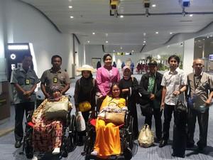 2 TKI Dipulangkan dari Arab Saudi karena Menderita Sakit