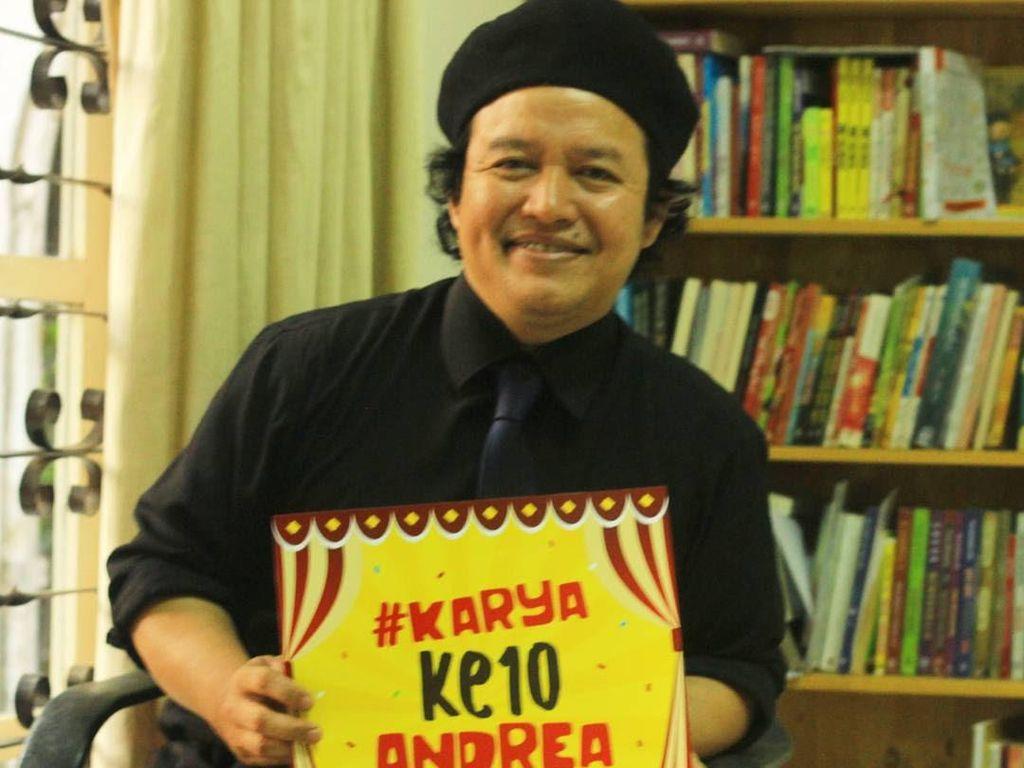 Judul Masih Rahasia, Pre Order Novel Terbaru Andrea Hirata Laku