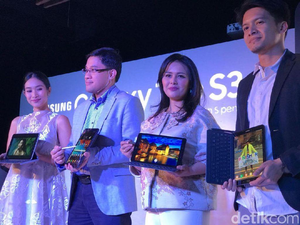 Tablet Gahar Galaxy Tab S3 Masuk Indonesia, Harganya?