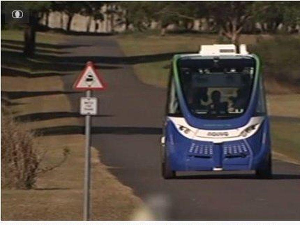 Kendaraan Tanpa Pengemudi Diuji Coba di Sydney