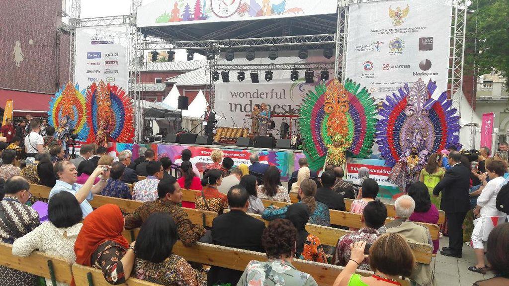 Potret Kemeriahan Festival Indonesia ke-2 di Rusia