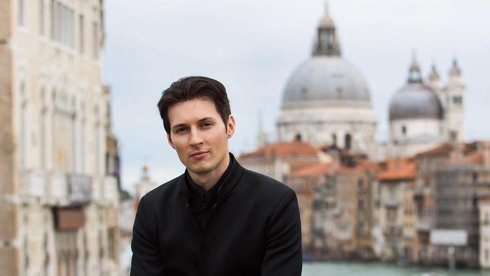 Bos Telegram Pavel Durov. Foto: (Instagram/Pavel Durov)