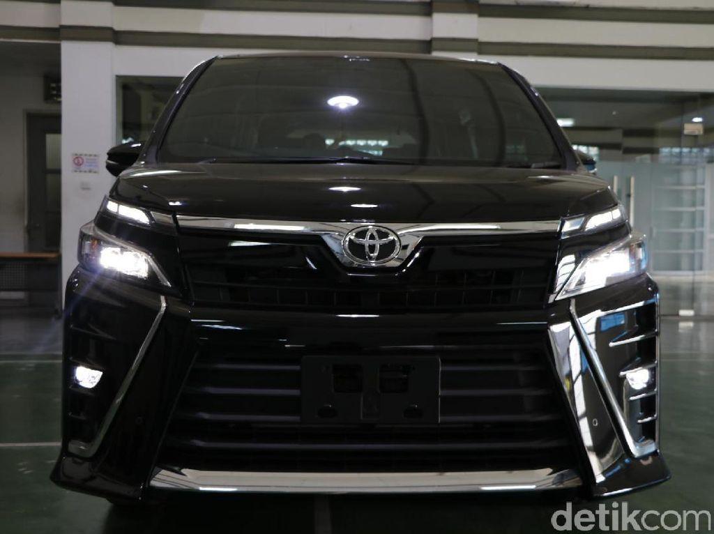 Foto: Ini Dia Tampang Baby Vellfire dari Toyota