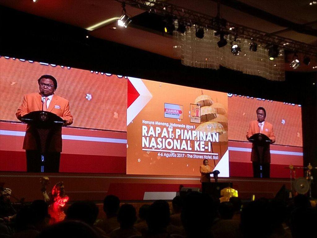 Pleno Rapimnas, Hanura Targetkan 81 Kursi di Pileg 2019