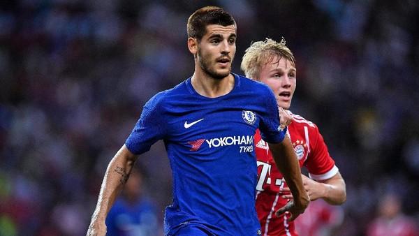 Wenger Tetap Waspadai Lini Depan Chelsea Tanpa Diego Costa