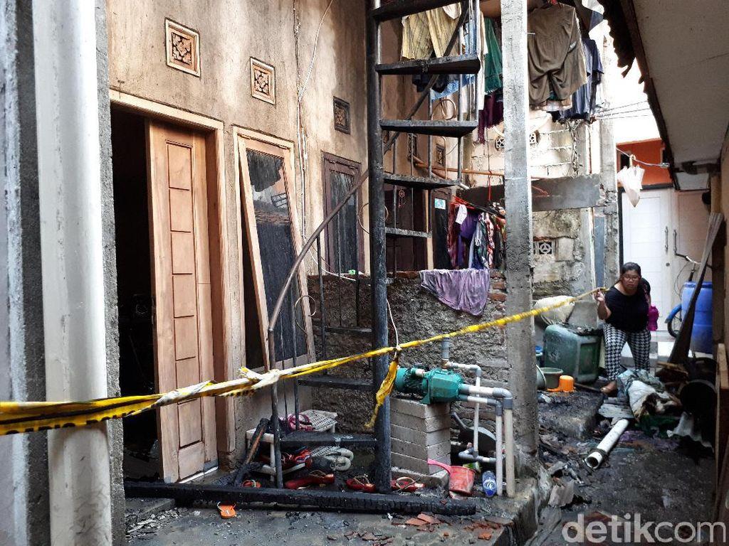 Kebakaran Palmerah, Jasad Ibu dan 3 Anaknya Ditemukan Berpelukan