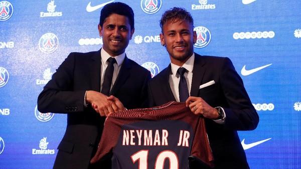 Soal Harga Neymar dan FFP, PSG: Silakan Minum Kopi, Jangan Dirisaukan